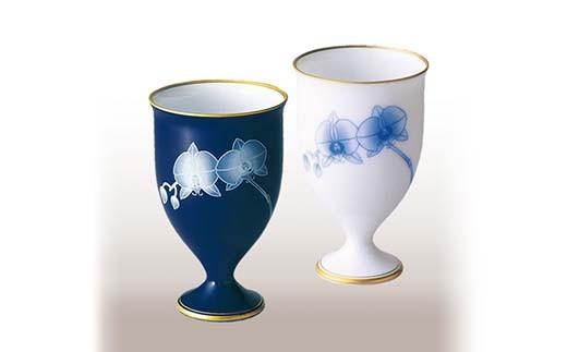KR002 胡蝶蘭・ペアワインカップ