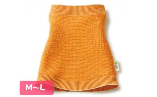 No.037 冬のおなかありがとう(M~L)シャイニーオレンジ