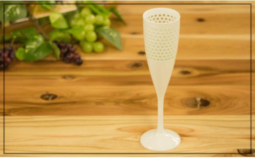 OA15 【至高の逸品】丹心窯V型水晶彫シャンパン【波佐見焼】【丹心窯】