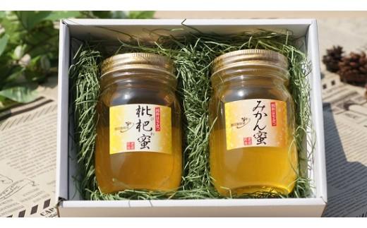 藤田養蜂場はちみつセット(びわ蜜・みかん蜜)
