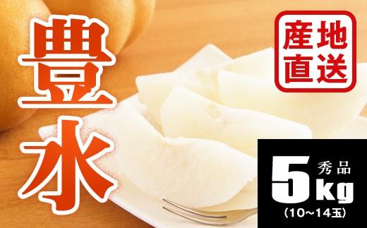 B706 【産地直送】豊水梨約5kg(10~14玉)