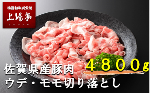 厳選佐賀県産豚肉(モモ・ウデ) 切り落とし