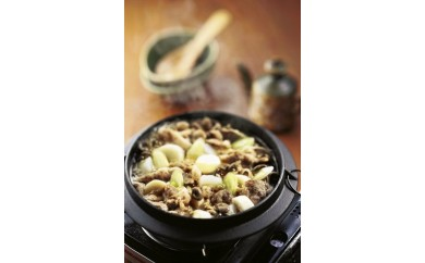 D077 米沢牛芋煮鍋セット