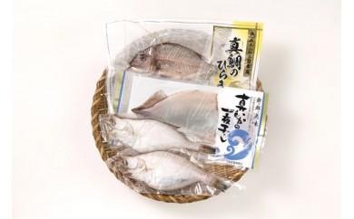 D054 山形県庄内浜海宝味比べBセット
