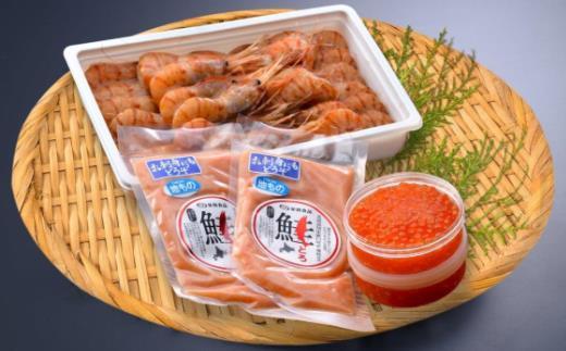 ぼたんえび海鮮丼セット