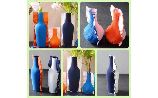 P-4.【花瓶】Tricote(トリコテ)フラワーベースLサイズ・Mサイズ2点セット【限定数10】