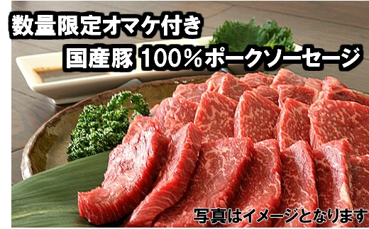 B-244 【数量限定オマケ付き】宮崎県産黒毛和牛<JAこゆ牛 カルビ肉>【5,000pt】