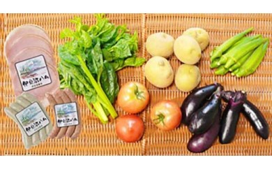 「ごちそう定期便」(加工品・野菜コース3ヶ月コース)