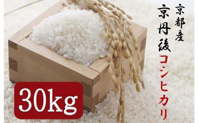 平成30年度 京丹後コシヒカリ 30kg