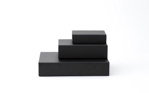 一新堂/ISSHINDO FOLDING BOX 3箱Black