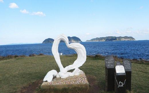近隣観光施設(恋人の聖地「ハート岬」)