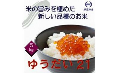 千葉県産のお米「ゆうだい21」5㎏