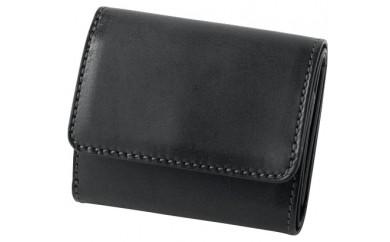 [SQ-09] SOMES SQ-09 3つ折財布(ブラック)
