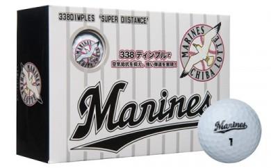 千葉ロッテマリーンズ ゴルフボール ホワイト 3箱