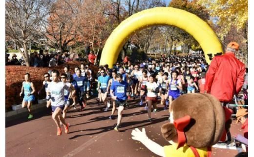 020-12はだの丹沢水無川マラソン参加権(ハーフマラソンの部)