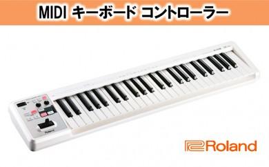 [№5786-2195]【Roland】MIDI キーボード コントローラー A-49-WH