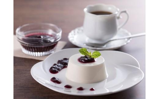 レアチーズケーキ・ブルーベリーソースセット