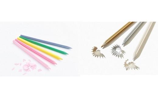 【AG-25】花色鉛筆、雪色鉛筆、塗り絵ポストカード 2セット
