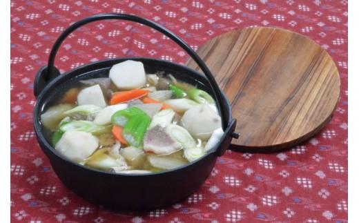 調理例:里芋鍋