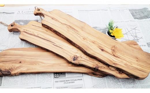 [№4631-1241]オピーブの木で作ったカッティングボード【Leccinoレッチノ】(ML)