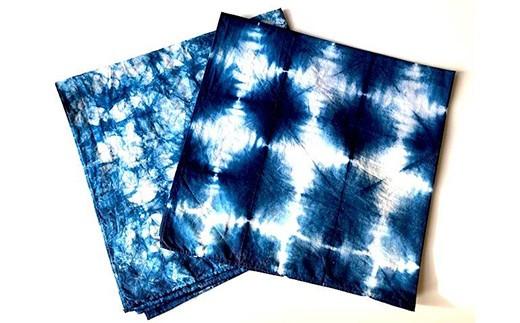 【GCF限定】オリジナル藍染ハンカチ&トートバッグ+お礼のメッセージカード
