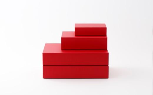 一新堂/ISSHINDO FOLDING BOX 4箱Red