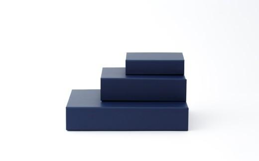 一新堂/ISSHINDO FOLDING BOX 3箱Blue