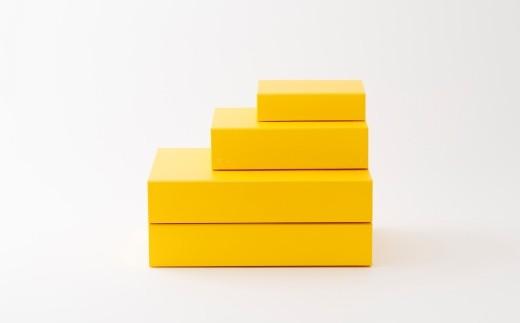 一新堂/ISSHINDO FOLDING BOX 4箱Yellow