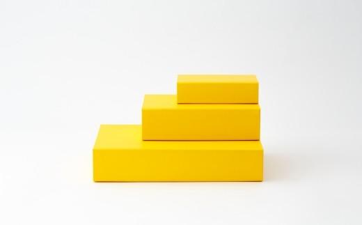 一新堂/ISSHINDO FOLDING BOX 3箱Yellow