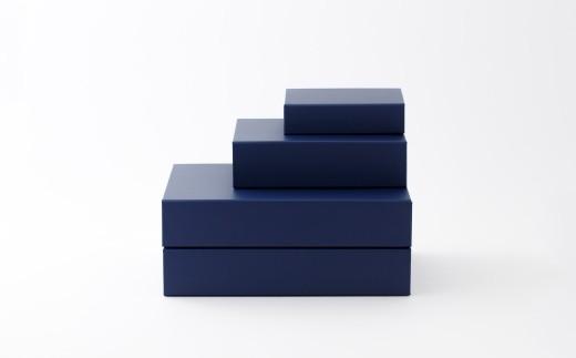一新堂/ISSHINDO FOLDING BOX 4箱Blue