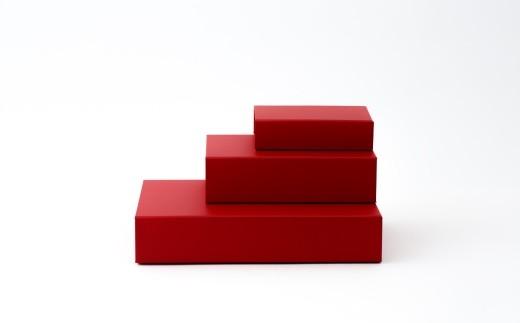 一新堂/ISSHINDO FOLDING BOX 3箱Red