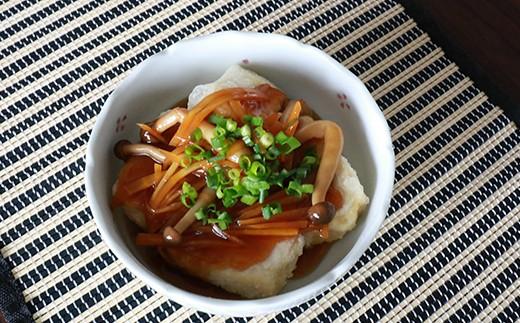 あごだしつゆを使って、揚げ出し豆腐の餡も作ることができます!
