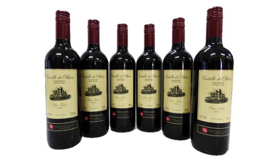 A303 スペイン産赤ワイン オレリアDO6本セット