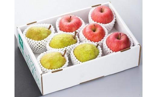 384 【先行予約】ラ・フランスとリンゴの詰め合わせ6kg