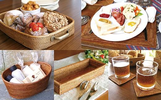 ☆バリ島発アタ製品 キッチン雑貨5種セット