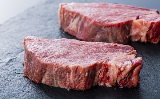 H-18 【毎月数量限定・至高の味わい】豊後牛頂ヒレステーキ(2枚)