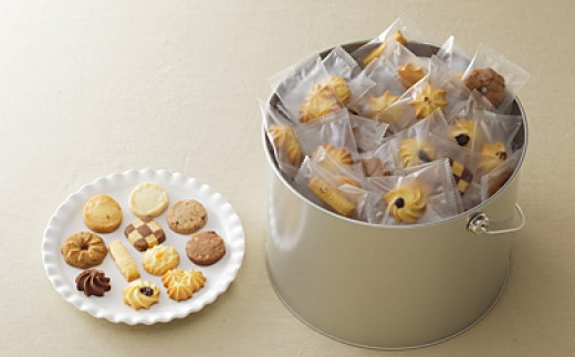 【58A0101】<ナカイ製菓>バケツ型オリジナルクッキー[高島屋選定品]