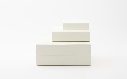 一新堂/ISSHINDO FOLDING BOX 4箱White