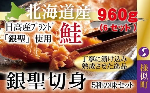 【1101】銀聖切身5種の味セット