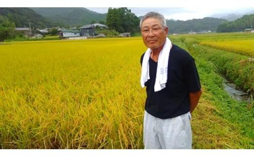 [043012]【新米】中竹石のおいしいお米 ヒノヒカリ15kg