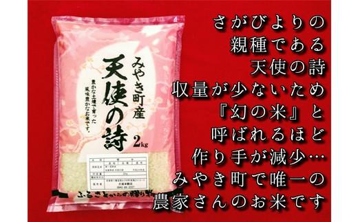 天使の詩(精米2キロ×2袋)