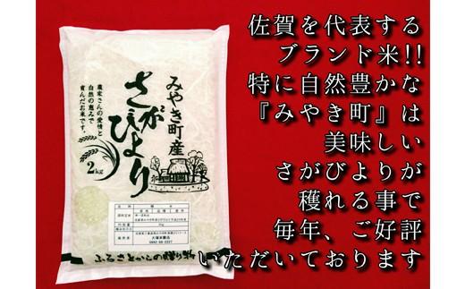 さがびより(精米2キロ×2袋)