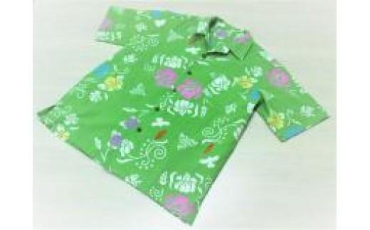 E-06 堺注染アロハシャツ(女性用Sサイズ)