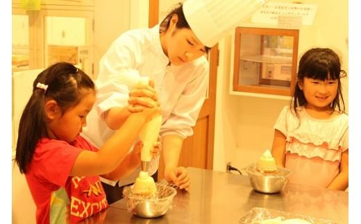 【12-4】たぬきのケーキ作り体験