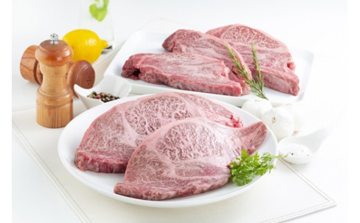 【40-14】幻の沼田黒毛和牛(肩ロースステーキ肉)