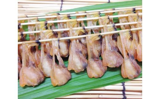 No.157 串あさり 4串【竹かご入り】 / アサリ 干物 酒の肴 酒のあて 珍味 愛知県 人気