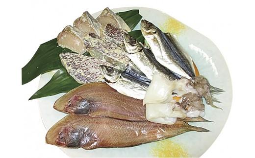 A-32 瀬戸内の幸を食卓に!「魚辰」特選一塩もの魚介セット