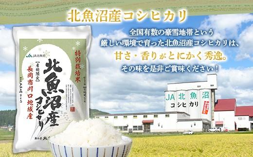 【6ヶ月連続お届け】北魚沼産コシヒカリ特別栽培米5kg(長岡川口地域)H30年産