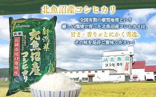 【玄米】北魚沼産コシヒカリ5kg(長岡川口地域)