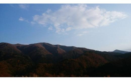 秋の西和賀の山々